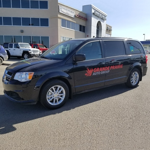 New Van donated by Grande Prairie Auto Group