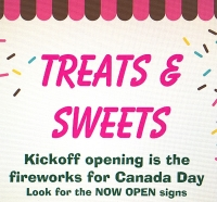 Treats & Sweets Grand Opening
