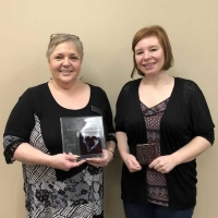 Congratulations to Penny Newhook and Sherilee Crawley!